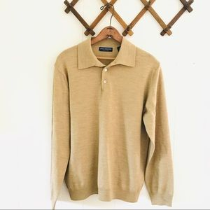 Made In Italy Extra Fine Merino Wool Sweater